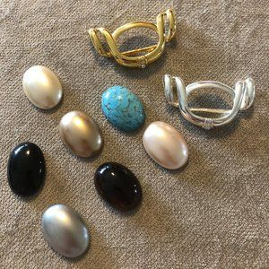Premier Designs Jewelry Options Set Silver/Gold
